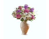Loving Blooms� Lenox� Lavender & White in Palm Coast, Florida, Garden Of Eden