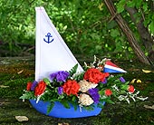 Indianapolis Flowers - Shells and Sails - Gillespie Florists