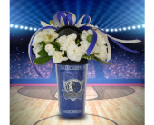 Three Pointer Tumbler in Dallas TX, In Bloom Flowers, Gifts and More