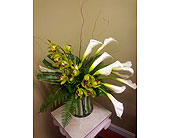 Cascading Beauty in Charlotte NC, Starclaire House Of Flowers Florist