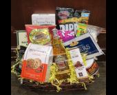 Lawrenceville Flowers - Snack and Junk Food Basket - Monday Morning Flower Co