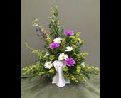 Porcelain Angel Planter in Beaver, Pennsylvania, Snyder's Flowers