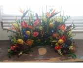 Tropical Urn in Aston PA, Wise Originals Florists & Gifts