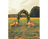 Fall Archway in Mount Airy, North Carolina, Cana / Mt. Airy Florist