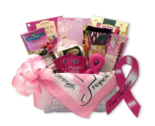 Find A Cure Breast Cancer Basket in Bound Brook NJ, America's Florist & Gifts