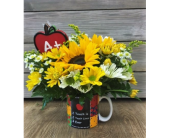Touching Lives Teacher Mug in Smyrna GA, Floral Creations Florist