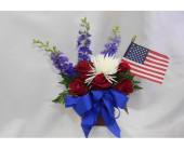 Red, White & Blue  in Henderson, Nevada, Beautiful Bouquet Florist