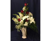 Angel Vase Arrangement in Dearborn, Michigan, Fisher's Flower Shop