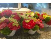 Wed Centerpiece in Vero Beach FL, Artistic First Florist