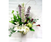 One Sided Vase Arrangement in Belleville ON, Live, Love and Laugh Flowers, Antiques and Gifts