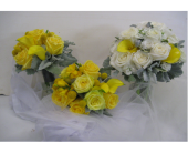 Bride & Bridesmaids Bouquets in Blue Bell, Pennsylvania, Country Flower Shoppe