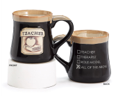 Black Teacher Mug in Smyrna GA, Floral Creations Florist