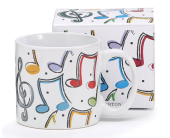 Colorful Music Notes Mug in Smyrna GA, Floral Creations Florist