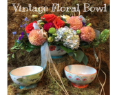 Rancho Cordova Flowers - Vintage Floral Bowl - G. Rossi & Co.