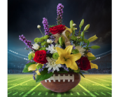Football Fanatic in Dallas TX, In Bloom Flowers, Gifts and More