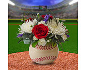 Batter Up in Dallas TX, In Bloom Flowers, Gifts and More