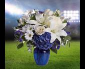 Fishers Flowers - Go Blue - George Thomas, Inc.