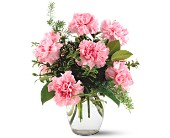 Teleflora's Pink Notion Vase in Paramus NJ, Evergreen Floral, Inc.