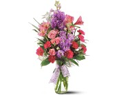 Teleflora's Fragrance Vase - Deluxe in Friendswood TX, Lary's Florist & Designs LLC