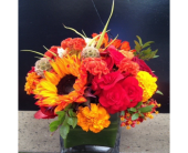 AUTUMN MORNING BOUQUET in Bellevue WA, CITY FLOWERS, INC.