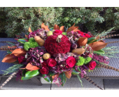 ABUNDANT HARVEST CENTERPIECE      in Bellevue WA, CITY FLOWERS, INC.