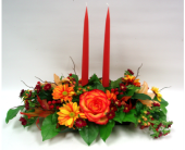 2 Candle Centrepiece in Belleville ON, Live, Love and Laugh Flowers, Antiques and Gifts