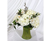 Vase of Hydrangea and Alstromeria in Southampton PA, Domenic Graziano Flowers
