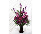 Philadelphia Flowers - Vase Shades of Purple - Domenic Graziano Flowers & Gifts, Inc.