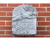 Dove Plaque - Always in Our Hearts in Des Moines IA, Irene's Flowers & Exotic Plants