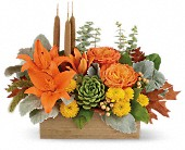 Teleflora's Fall Bamboo Garden in Schofield, Wisconsin, Krueger Floral and Gifts
