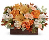 Teleflora's Fall Chic Bouquet in Ironton OH, A Touch Of Grace