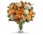 Teleflora's Seasonal Sophistication Bouquet in Edmonton AB, Petals For Less Ltd.