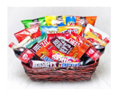 Jumbo Candy & Snack Basket in St Clair Shores MI, Rodnick