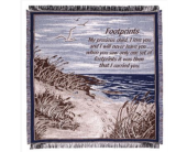 Footprints Tapestry Throw in Tulalip WA, Salal Marketplace