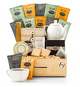 Full Leaf Tea Tasting Crate - by GiftTree Flowers
