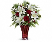 Teleflora's Wondrous Winter Bouquet in Odessa TX, A Cottage of Flowers