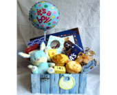 Baby Boy Basket in Fairview PA, Naturally Yours Designs