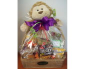 Plush Surprise Basket in Fairview PA, Naturally Yours Designs