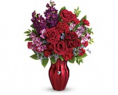 Teleflora's Shining Heart Bouquet in Edmonton AB, Petals For Less Ltd.