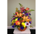 Pumpkin Arrangement in Athens GA, Flower & Gift Basket