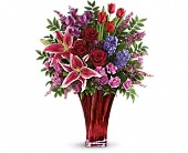 One Of A Kind Love Bouquet by Teleflora in Springfield OR, Affair with Flowers