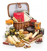 Select Charcuterie and Gourmet Cheese Hamper - by GiftTree Flowers