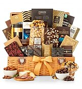 Grand Indulgence Gourmet Gift Basket - by GiftTree Flowers
