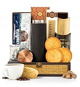 Italian Roast Coffee Chest - by GiftTree Flowers