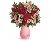 Teleflora's True Lovelies Bouquet in Springfield OR, Affair with Flowers