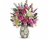 Teleflora's Blooming Spring Bouquet in Grand Island NE, Roses For You!