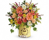 Teleflora's Country Spring Bouquet in Charlotte NC, Starclaire House Of Flowers Florist