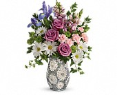 Teleflora's Spring Cheer Bouquet in Northridge CA, Flower World 'N Gift