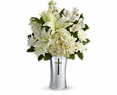 Teleflora's Shining Spirit Bouquet in Rush, New York, Chase's Greenhouse
