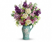 Teleflora's Artisanal Beauty Bouquet in Beloit KS, Wheat Fields Floral